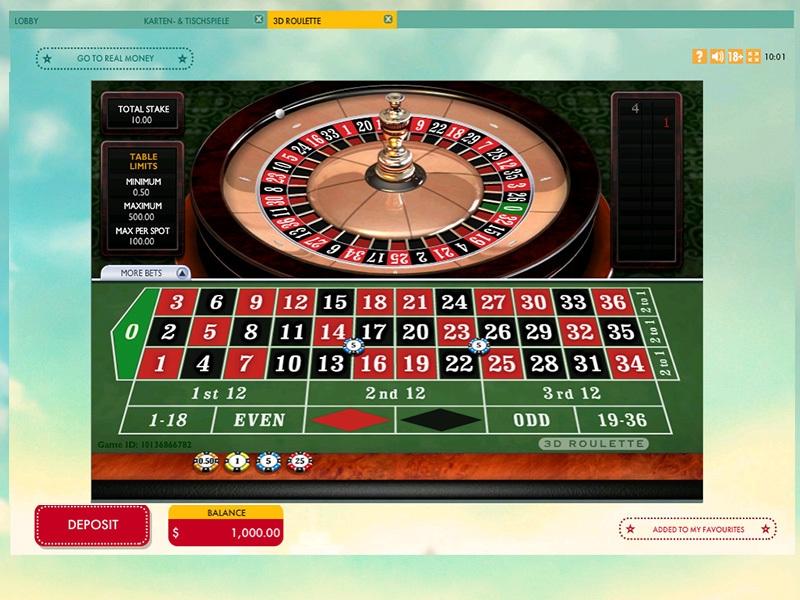 777 Casino Free Roulette