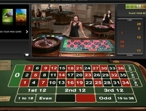 Bet365 Live Roulette View