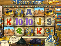 Bwin Loot'EnKhamun Slot Screenshot