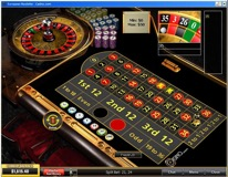 Roulette Table View