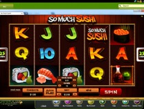 So Much Sushi Slot View