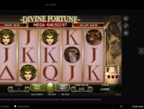 Guts Casino Divine Fortune Screenshot