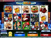 Santas Wild Ride Slot View