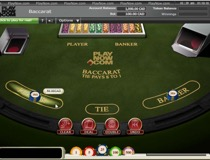 Baccarat Table View