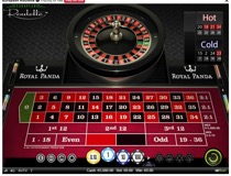 European Roulette Table View