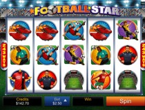 Football Star Slots View