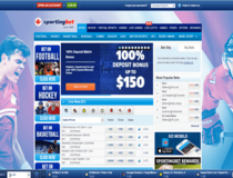 Sportingbet Online Sports Lobby
