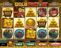 Thrills Gold Factory Slot Image