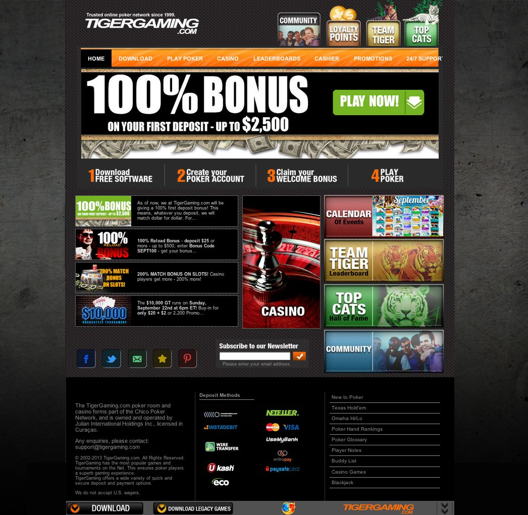 Tiger Gaming Review