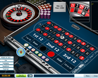 William Hill Roulette Table Screenshot