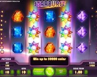 William Hill Starburst Slot Image